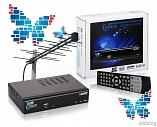 DVB-T2 цифровой ресивер Lumax 4110HD