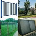 Секции из металла для ограждений домов и участков