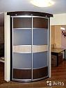 Шкафы с радиусными дверями